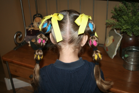 Pretty Easter Hairstyles For Girls Mile High Mamas