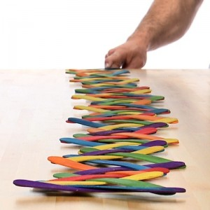 Summer Fun Activity - Popsicle Stick Chain Reaction