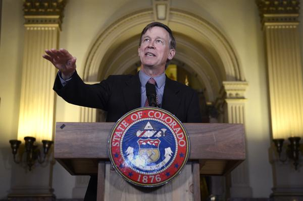 Colorado governor John Hickenlooper grants Nathan Dunlap a temporary reprieve