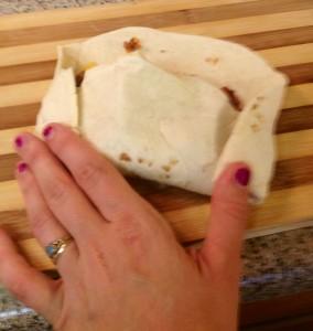 roll the burrito