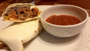Beef, Bean & Rice Burritos