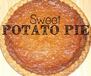 Dessert - Sweet Potato Pie