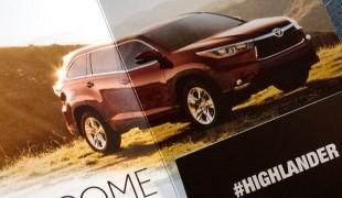 2014 Toyota Highlander for Moms