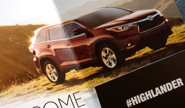 2014 Toyota Highlander for Moms
