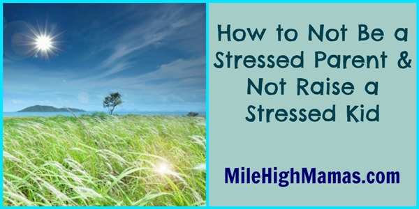 how to destress your family