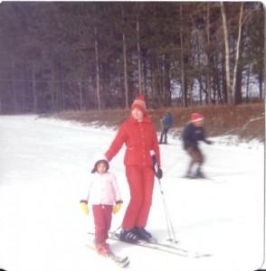 Wisconsin 1976 ski day