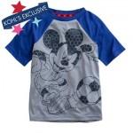 Mickey Mouse Soccer Raglan Tee