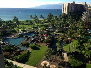 View from our Honua Kai room