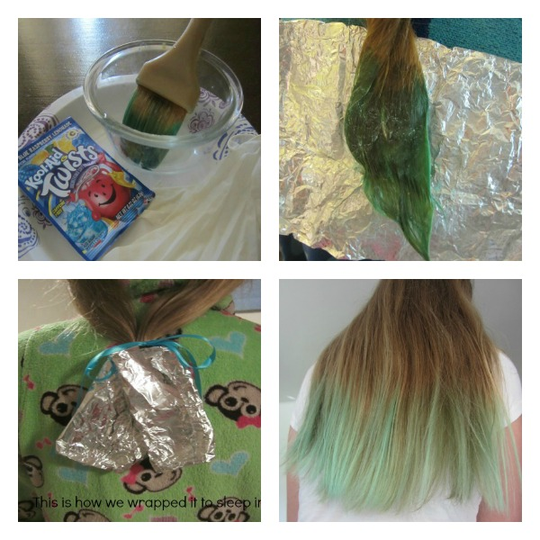 Hair Today Gone Tomorrow Kool Aid Hair Dyeing For Tweens