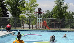 Pheasant Run Pool in Aurora, Colorado, reopens after four years.