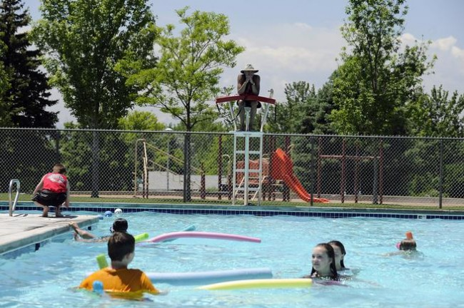 aurora 39 s free friday initiative includes free pool time this summer mile high mamas