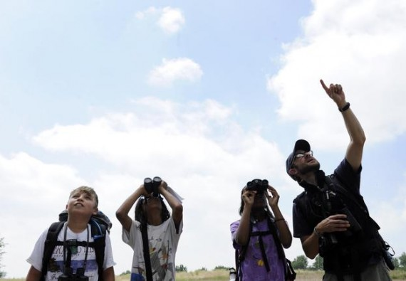 The Rocky Mountain Bird Observatory hosts a series of summer camps fro kids to learn about ecology in Brighton, Colorado.