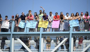 Students protest proposed AP History changes