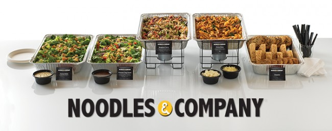 Contest Win Catering From Noodles Co For 20 Of Your Friends