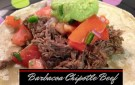 Delicious recipe for Barbacoa Chipotle Beef