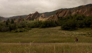 Visitors to Roxborough State Park in the south Denver Metro area.