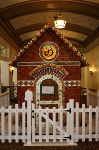 The Broadmoor's iconic gingerbread house