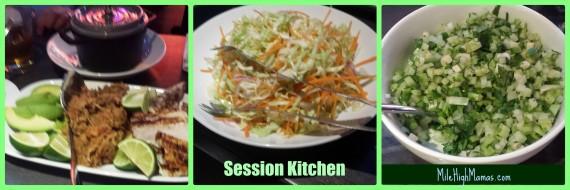 Session Kitchen food
