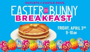 Easter Bunny Breakfast hosted by Chris Cakes @  Outlets at Castle Rock Food Court  | Castle Rock | Colorado | United States