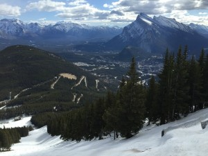 View from North American lift