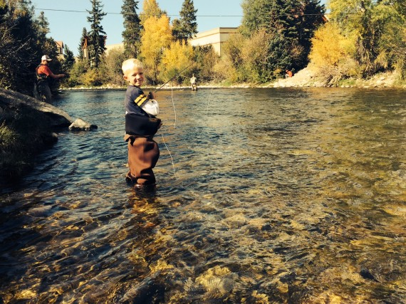 Ramsey fishing Blue