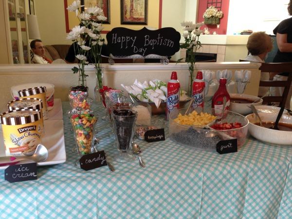 Make Your Own Dreyers Ice Cream Sundae Bar Mile High Mamas