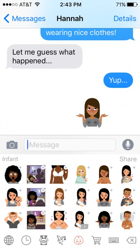 Bathroom Stall App emojimom's app shares how moms really feel | mile high mamas
