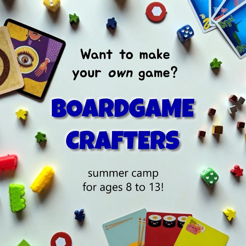 BoardgameCraftersFlyerFrontM