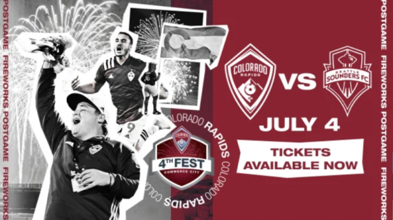 Colorado Rapids 4th of July Fireworks