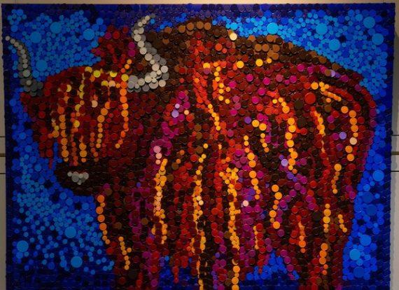Colorado Buffalo Mural