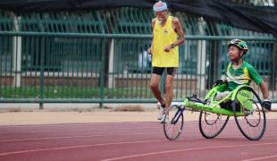 Disabled athlete colorado