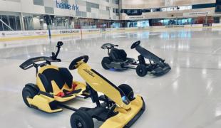 Go Karts on Ice Denver