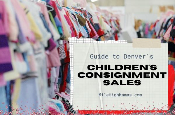 Denver children's consignment sales