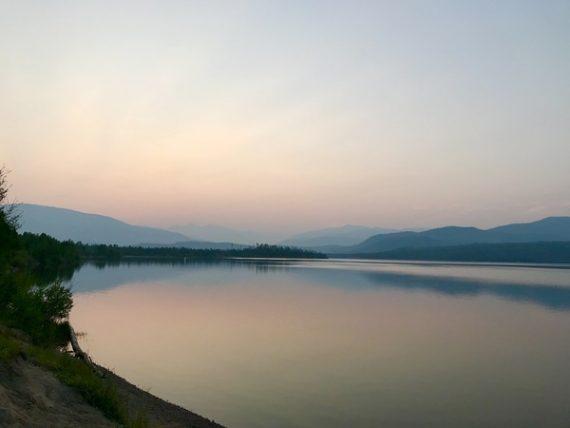 Dillon Reservoir Sunrise