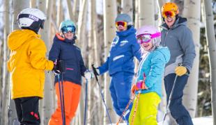 Ski family Vail