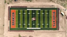 Branson Colorado football field