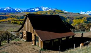 Ridgeway Colorado fall