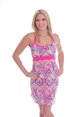 Tahiti Dress Pink henna