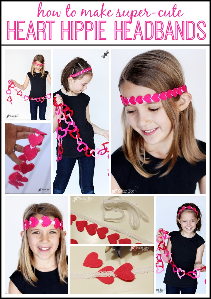 Hippy Heart Headband