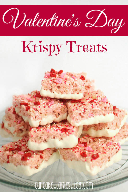 Strawberry Krispy Treats